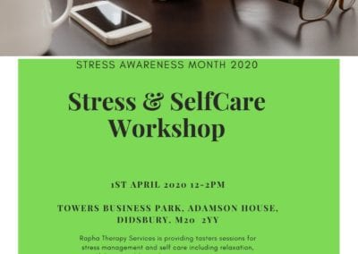 Stress and selfcare workshop - 1st April
