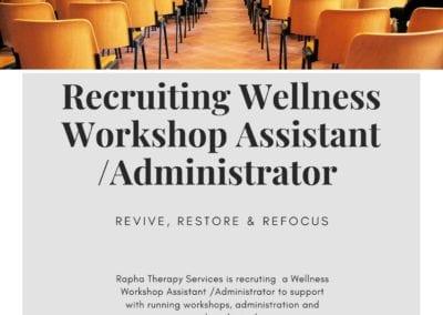 Wellness Assistant Advert final 1